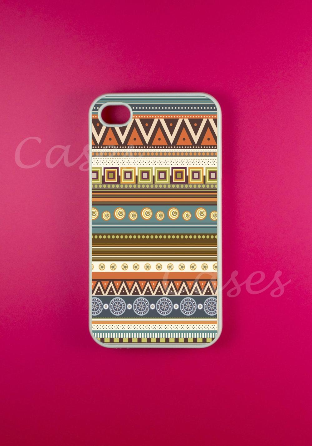Indian Aztec Iphone Case, Iphone 4 Case, Iphone 4s Case
