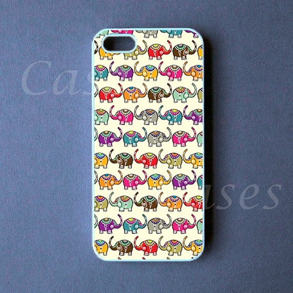 Iphone 5 Case - Elephants Iphone 5 Cover